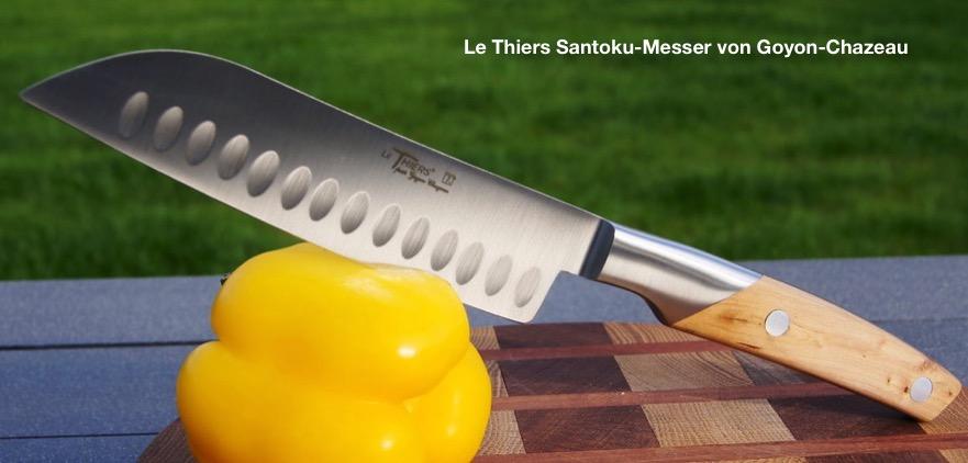 Santoku Küchenmesser