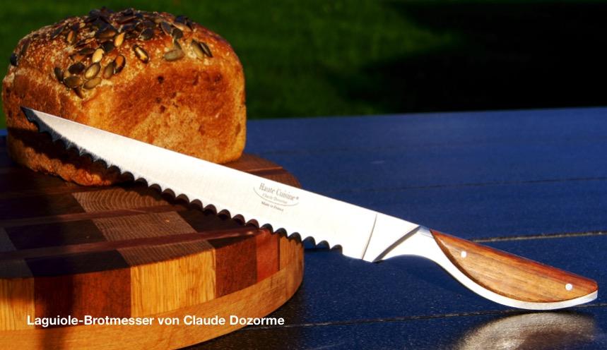 Brotmesser Haute Cuisine Claude Dozorme